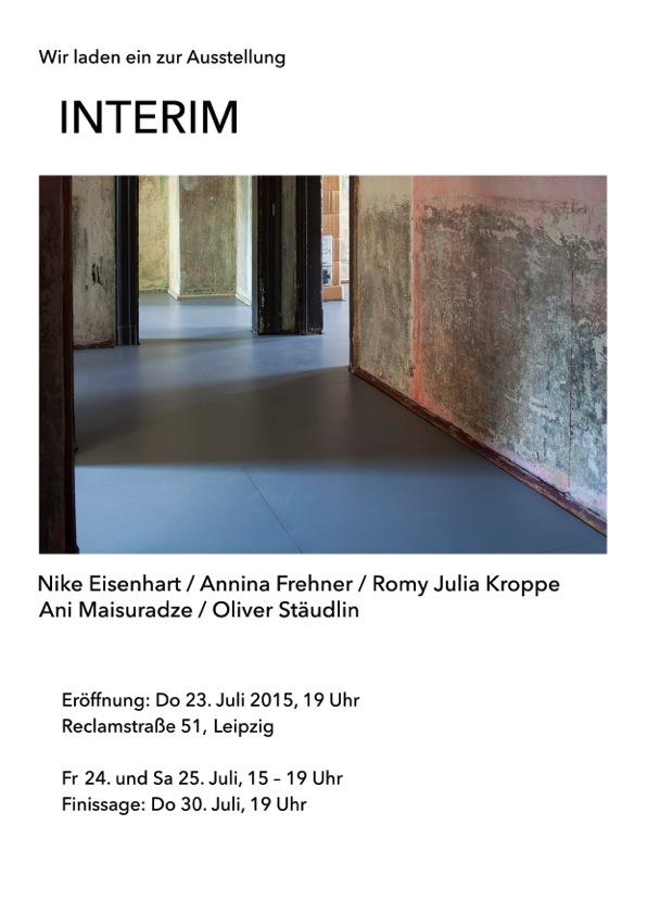 INTERIM Ausstellung